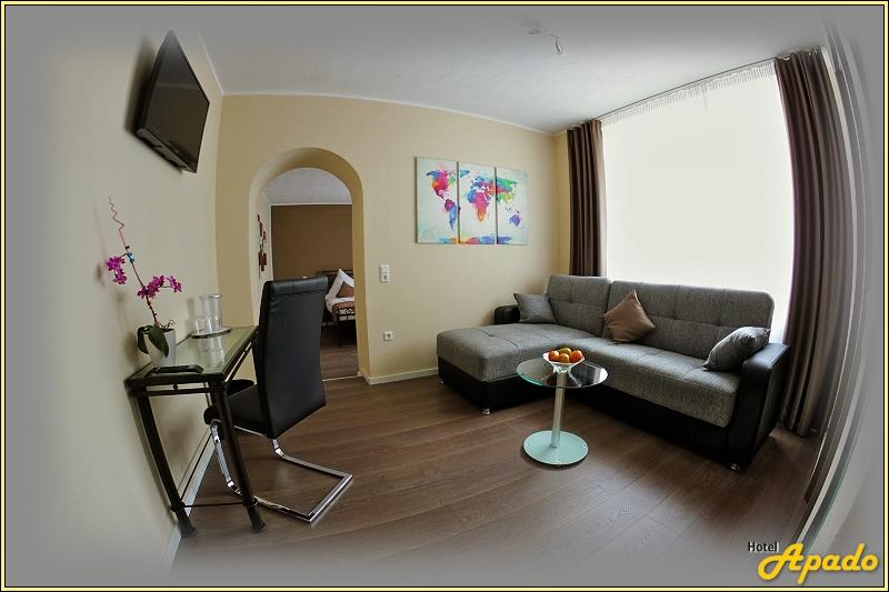 Komfortzimmer hotel apado homburg saar for Komfortzimmer doppelzimmer unterschied